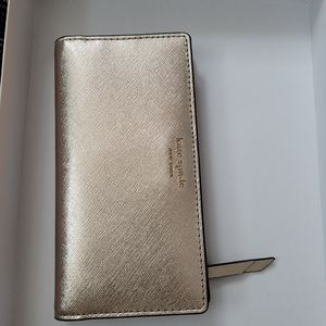 KATE ♠️ SPADE Cameron Rose Gold Wallet New w/ Tag
